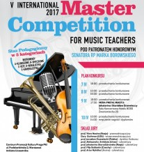 V INTERNATIONAL MASTER COMPETITION FOR MUSIC TEACHERS